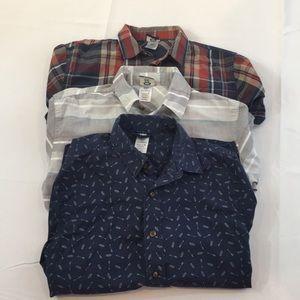 Kids combo button up shirt